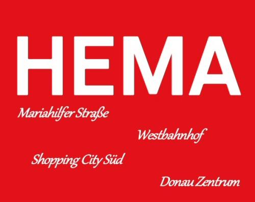 Hema 4x in Wien