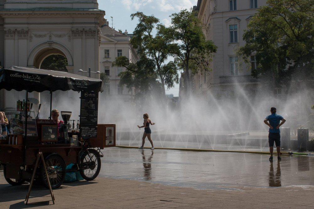 Zomer op de Karlsplatz